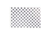Silver Security Tape Dots Pattern