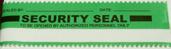 green security tape seal